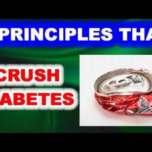 4 Principles That Crush Diabetes