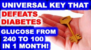 A1c from diabetic levels to 4.7 / The universal key to beating diabetes