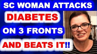 Lady Who Overcame Diabetes through persevering in three different areas.