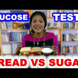 Blood Sugar Test: Bread vs Bread vs Sugar