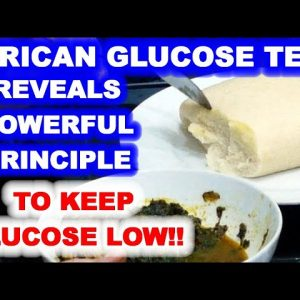 Blood Sugar Test Reveals Powerful Principle for Keeping Glucose Low!