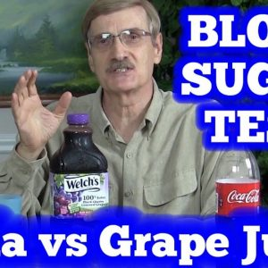 Blood Sugar Test: Soda (Coca Cola) vs Grape Juice