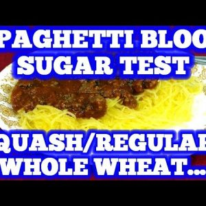 Blood Sugar Test: Spaghetti Wars: Which is best for diabetics?
