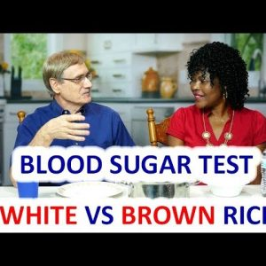 Blood Sugar Test: White Rice vs Brown Rice