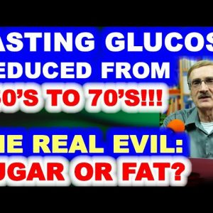 Fasting Glucose Drops from 150's to Upper 70's in 4 Months!!!