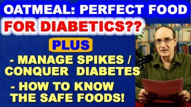 Is OATMEAL the perfect food for DIABETICS? You can CONQUER DIABETES by managing glucose SPIKES.