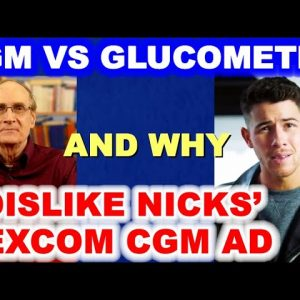 CGM vs Glucometer, and Why I Dislike Nick Jonas' Super Bowl Dexcom CGM Ad.