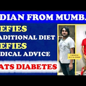Indian Defies Traditional Diet, Beats Diabetes