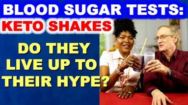 Blood Sugar Test: Keto Shakes. Are they good for you? Do they spike glucose?
