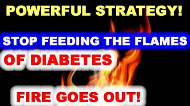 Stop Feeding the Flames of Diabetes - and the Fire Will Go Out!