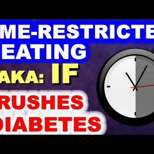 Time-Restricted Eating Crushes Diabetes!