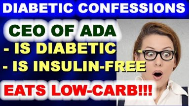 True Confessions: CEO of ADA is a Low-carbber!